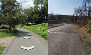 Cardox Road Before and After Widening
